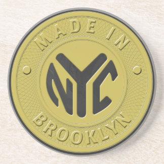Brooklyn Subway Token Drink Coaster
