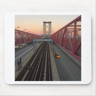 Brooklyn Taxi Mouse Pad
