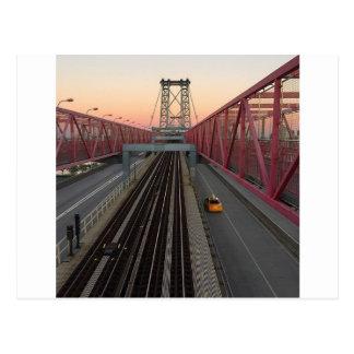 Brooklyn Taxi Postcard