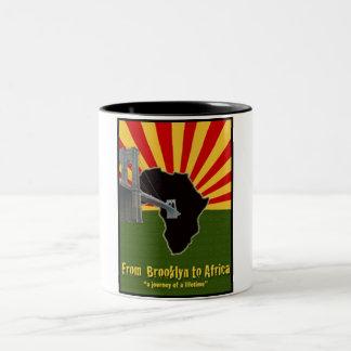 Brooklyn to Africa Classic  White Coffee Mug