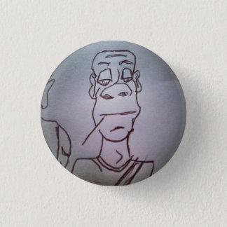 brooks 1 inch round button