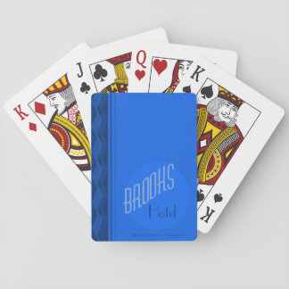 Brooks House Hotel Playing Cards (Blue Deck)