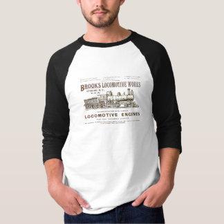 Brooks Locomotive Works 1890 3/4 Sleeve Raglan T-Shirt