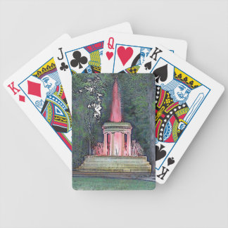Brooks Memorial Fountain Playing Cards