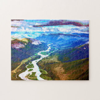 Brooks Mountain Range, Arctic Alaska Jigsaw Puzzle