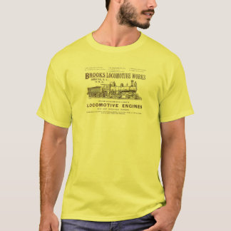 Brooks Steam Locomotive Works 1890 T-Shirt