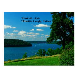 Brookville Lake, Franklin County Indiana Postcard