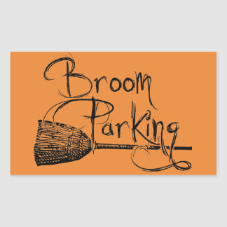 Broom Parking, Halloween Witch Sign, Fall Autumn