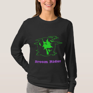 Broom Rider Halloween Witch Shirt