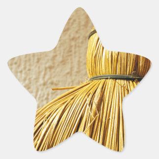 Broom Star Sticker