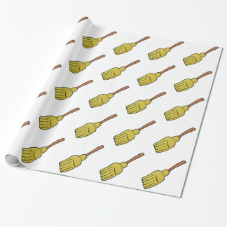 Broom Wrapping Paper