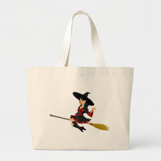 Broomstick Large Tote Bag