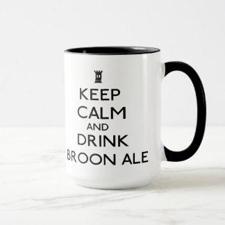 Broon ale mug