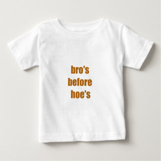 bro's before hoe's t shirts