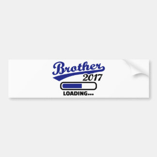 Brother 2017 bumper sticker