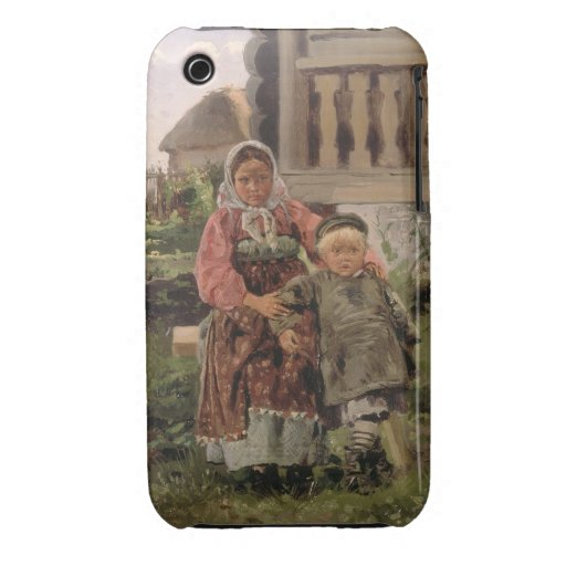 Brother and Sister, 1880 Case-Mate iPhone 3 Cases
