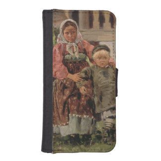 Brother and Sister, 1880 iPhone 5 Wallets