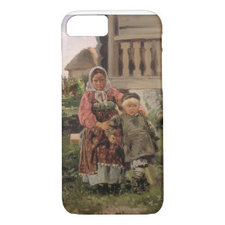 Brother and Sister, 1880 iPhone 7 Case