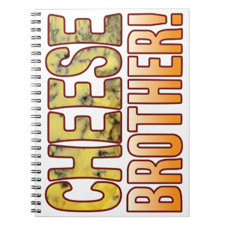 Brother Blue Cheese Spiral Note Book