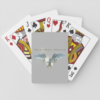 Brother Down Grey Playing Cards