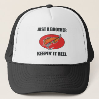Brother Fishing Gift Trucker Hat
