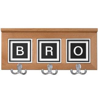 Brother Gift Idea Bro SIbling Coatrack Jacket Hook Coat Racks