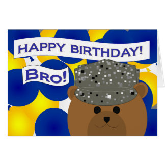 Brother - Happy Birthday Air Force Active Duty! Card