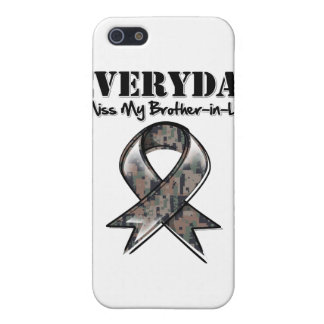 Brother-in-Law - Everyday I Miss My Hero Military iPhone 5/5S Case