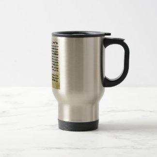 Brother in Law Poem - Soldier Design Travel Mug