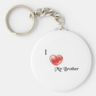 brother basic round button keychain