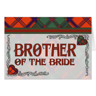 Brother of the Bride Invitation Stewart of Appin