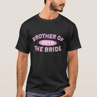 Brother of the Bride Pink Arc 2010 T-Shirt