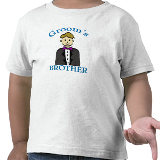 Brother of the Groom T Shirts