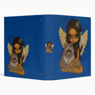 Brother Raccoon native american angel fairy Binder