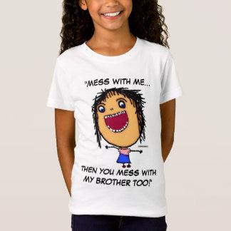 Brother Sister Warning T-Shirt
