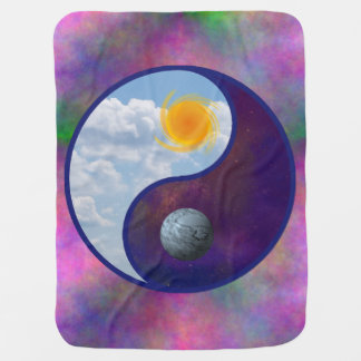 Brother Sun, Sister Moon Baby Blanket