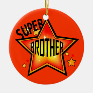 Brother Super Star Christmas Ornament