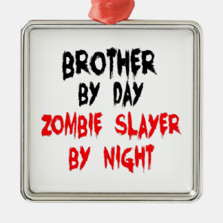 Brother Zombie Slayer Ornament