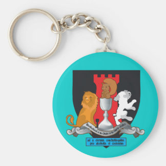 Brotherhood of the order of the empty chalice basic round button keychain