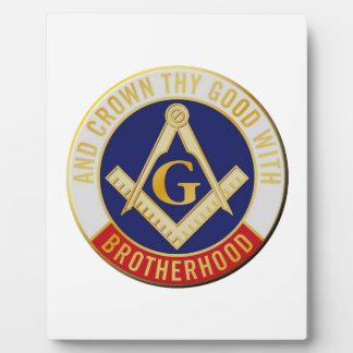 brotherhood plaque