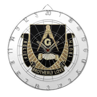 Brotherly Love Relief & Truth Dartboard