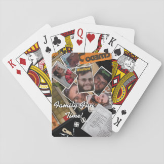 Brothers and Sisters Playing Cards