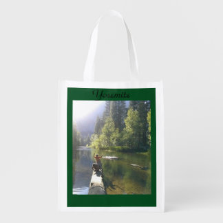 Brothers at Yosemite Reusable Grocery Bag