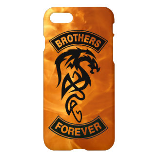Brothers Forever Forged in Fire Dragon iPhone 7 Case