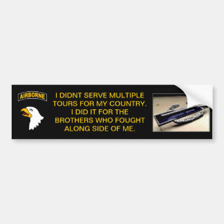Brothers in Arms Bumper Sticker