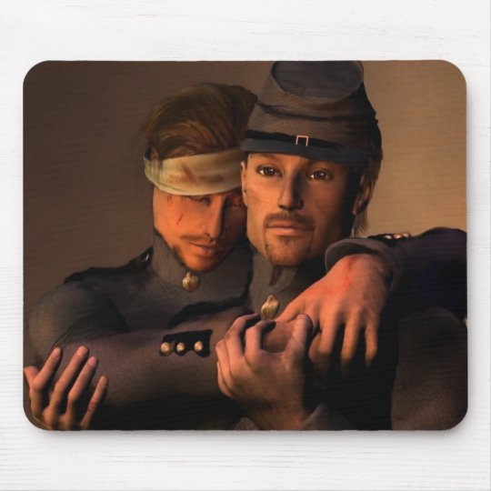 Brothers in arms mouse pad