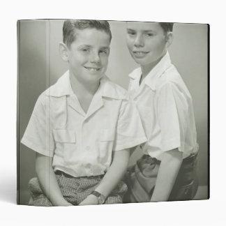 Brothers in Studio Binders