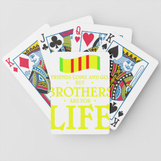 brothers life bicycle playing cards
