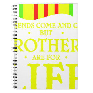 brothers life spiral note book