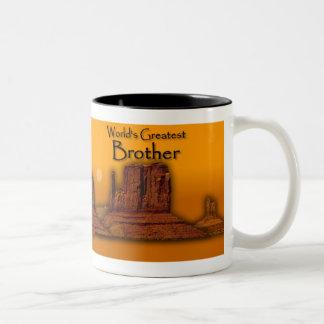 Brother's Loving Hands Gold Mug